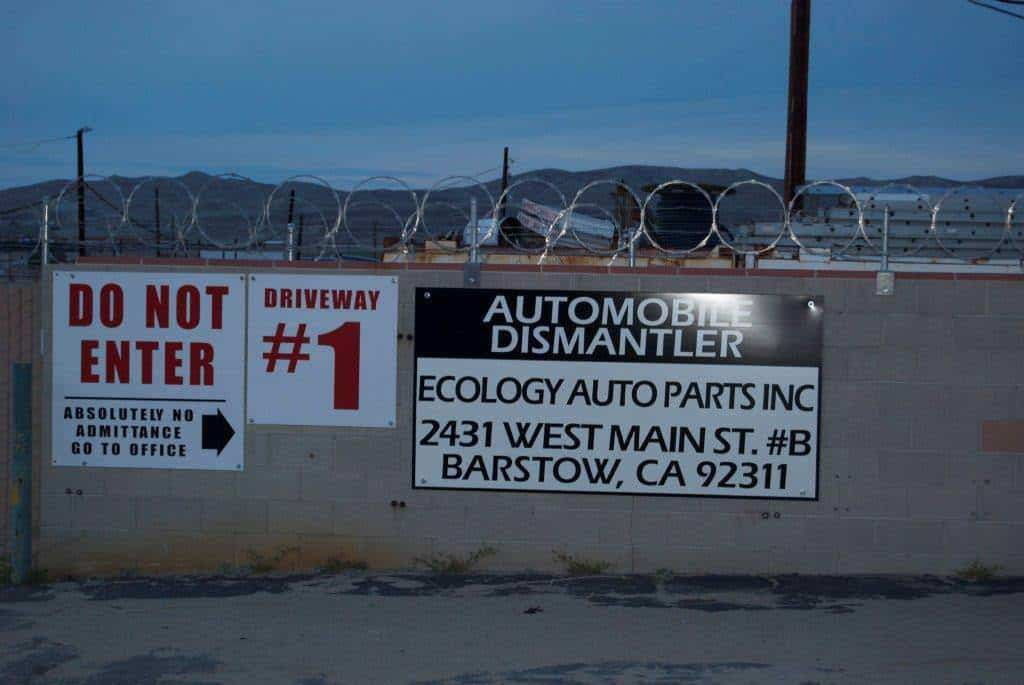 ecoparts barstow used semi truck parts